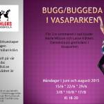 Bugg/buggeda i Vasaparken